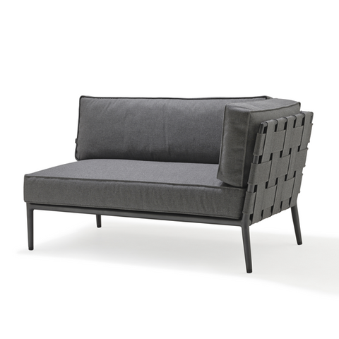 Conic Sofa Left Module of 2 Seater