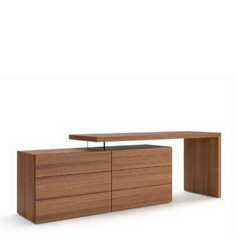Domino Vanity/Desk and People Dresser Wood