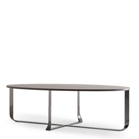 Elliptical Confluence Dining Table