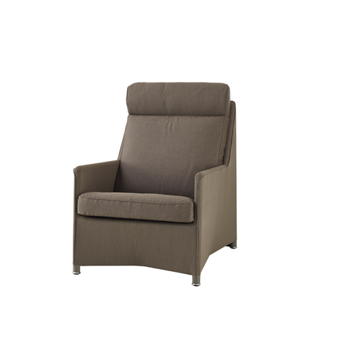 Diamond Tex & Sumbrella Armchair High Back
