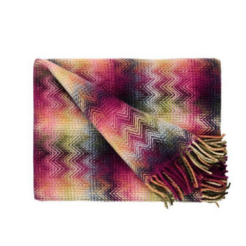 "Montgomery Multi Color Throw 51"" x 76"""