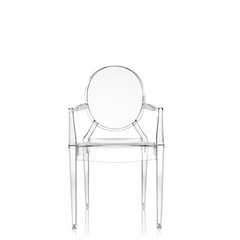 Louis Ghost Armchair, Set of 4