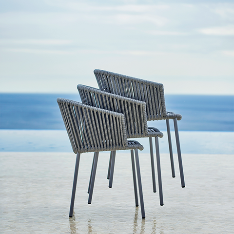 Moments Armchair Stackable