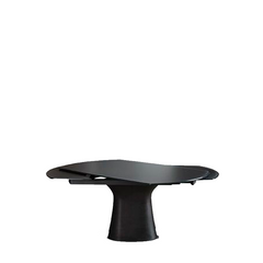 Podium Extendible Table, Anthracite, 98.4-in x 29.5-in