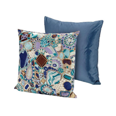 "Provins Multi Color Cushion 24"" x 24"""