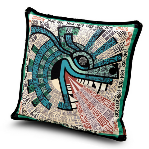 "Oroscopo Drago cushion 16"" x 16"""