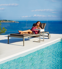 Conic Outdoor Sunbed