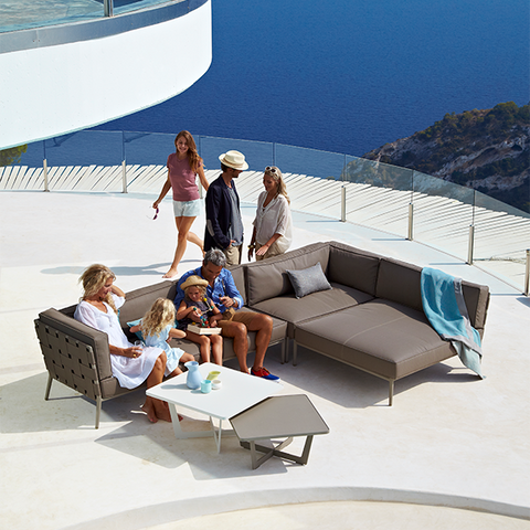 Conic Daybed Sectional