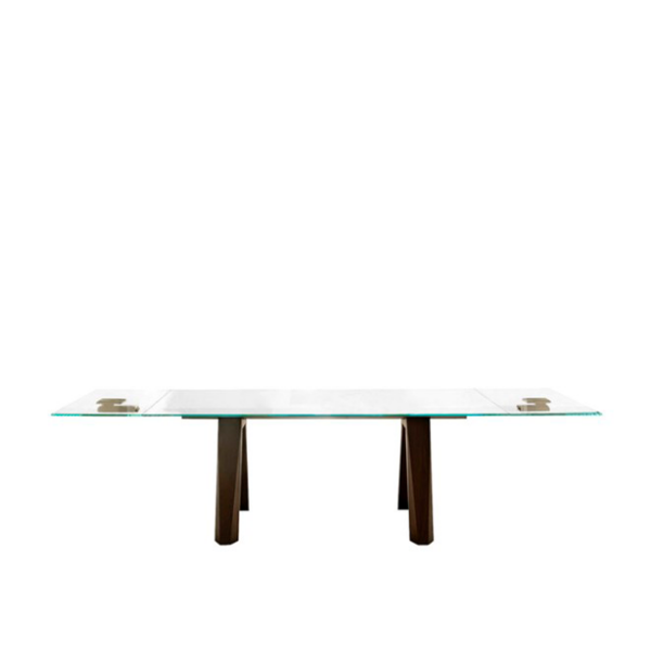 Aron Extendible Table, Spessart Oak, 118.1-in x 29.5-in