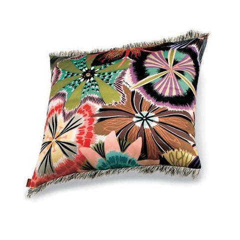 "Passiflora Coral cushion 16"" x 16"""