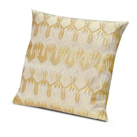 "Ormond Gold 401 cushion 16"" x 16"""