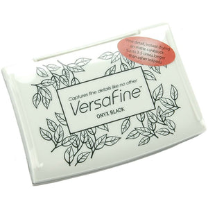 Versafine Fine Pigment Ink | Onyx Black