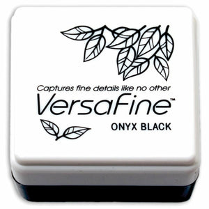 Versafine Fine Pigment Mini Ink Pad | Onyx Black