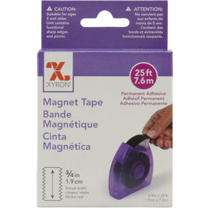 "Xyron Adhesive Magnetic Tape Dispenser .75"" X 25'"