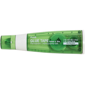 "Plus Glue Tape Roller 3/16"" x 26' Green TG-724"