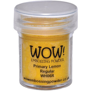 WOW! Embossing Powder, Primary Lemon