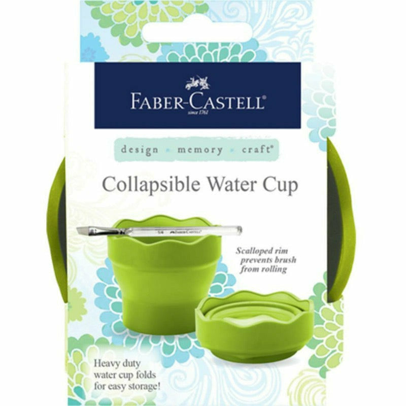 Faber Castell Collapsible Water Cup - Green