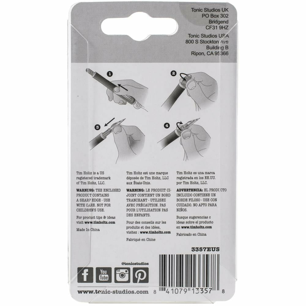 Load image into Gallery viewer, Tim Holtz | Retractable Craft Knife Refill Blades