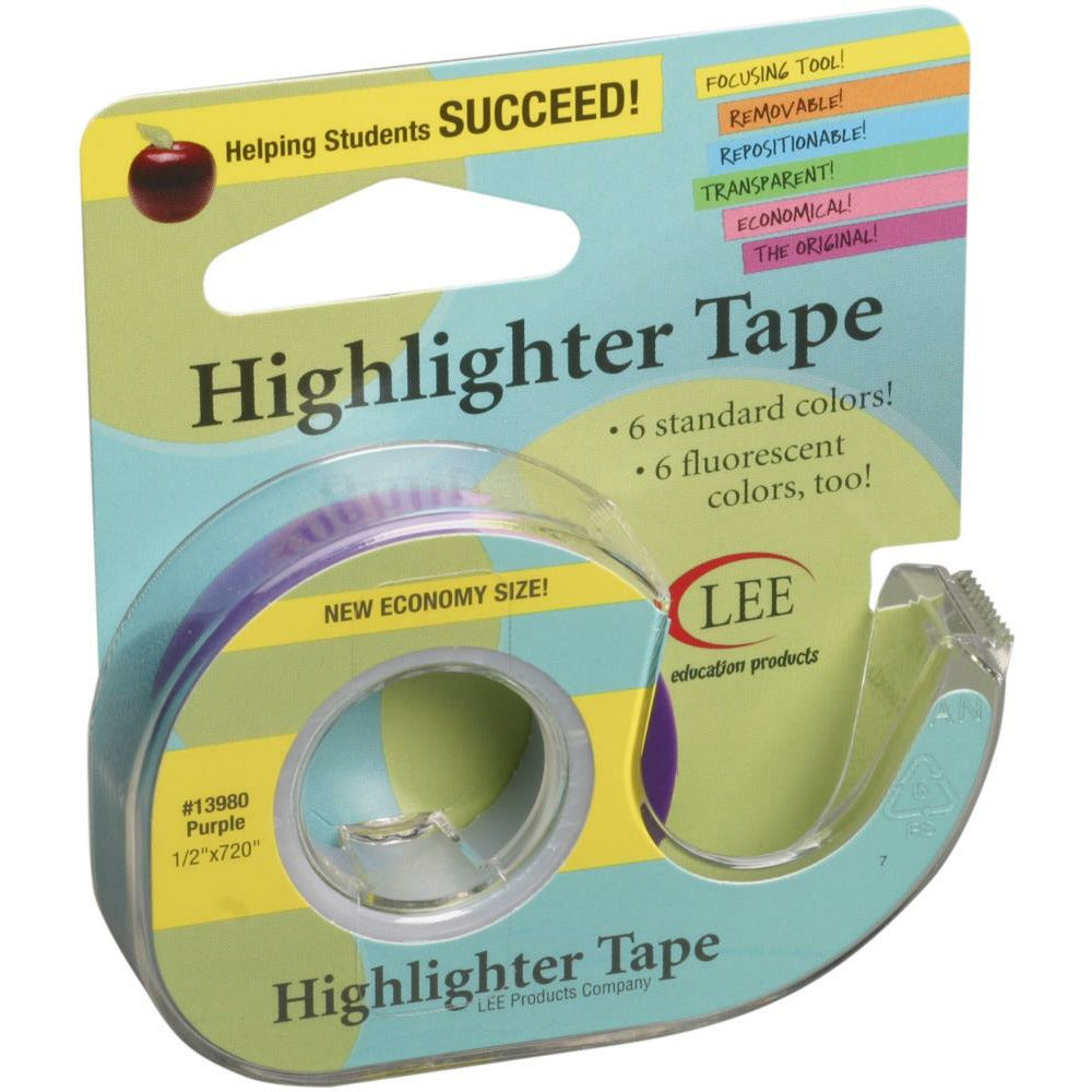 "Load image into Gallery viewer, Highlighter Tape | Purple .5"" x 720"""