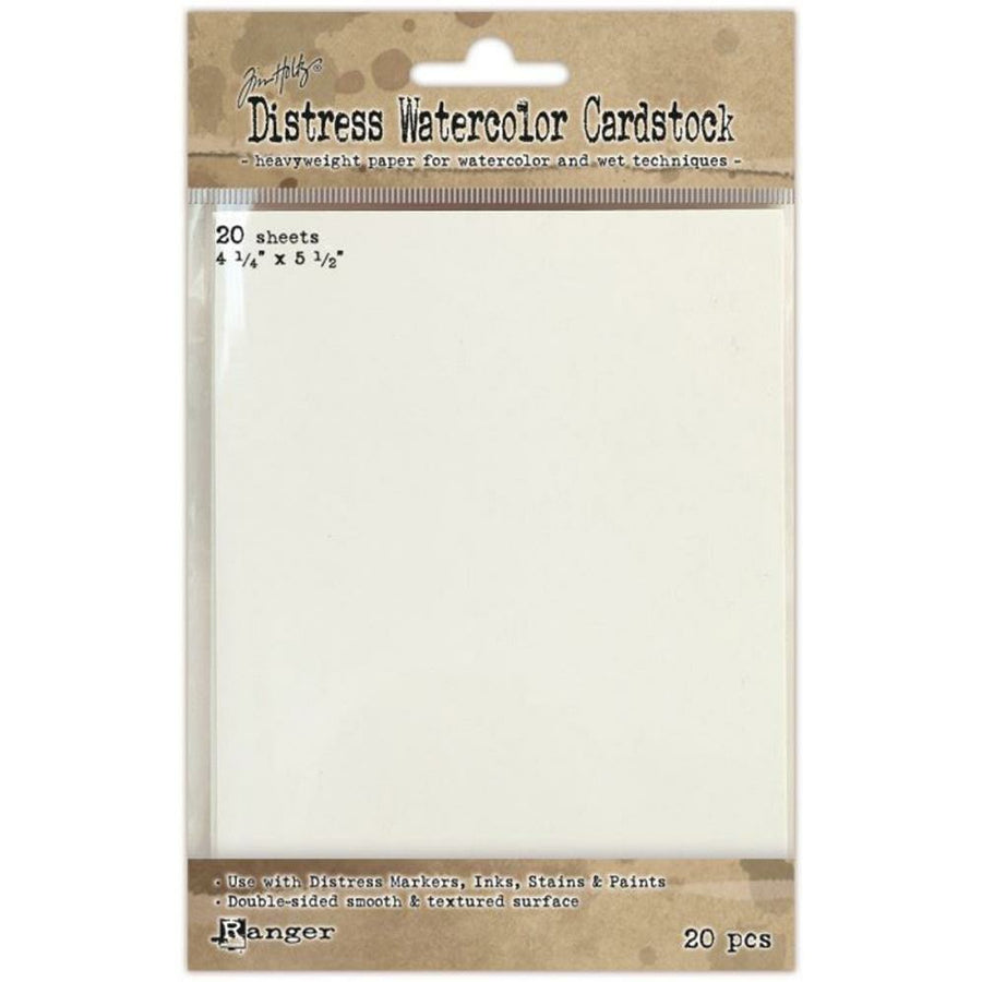Tim Holtz Distress Watercolor Cardstock 20/Pkg