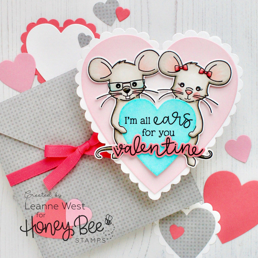 Stacking Hearts | Honey Cuts