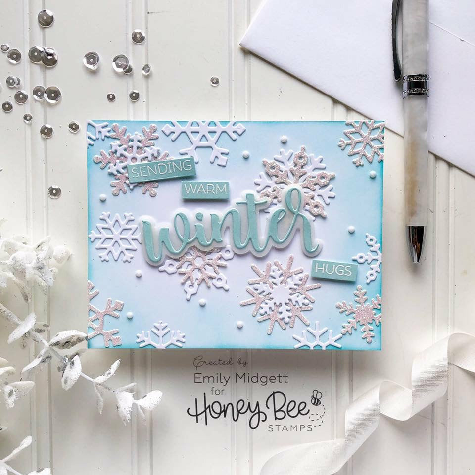Load image into Gallery viewer, Layering Snowflakes | Honey Cuts