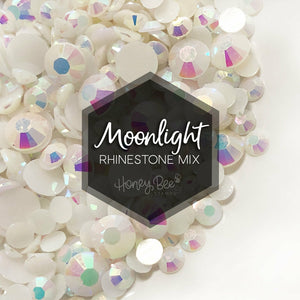 Moonlight Rhinestone Mix | 3, 4, 5 and 6mm Sizes