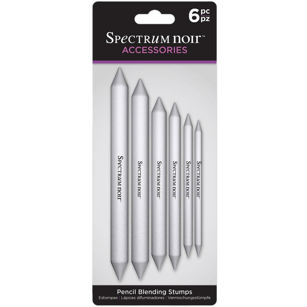 Load image into Gallery viewer, Spectrum Noir Pencil Blending Stumps 6/Pkg
