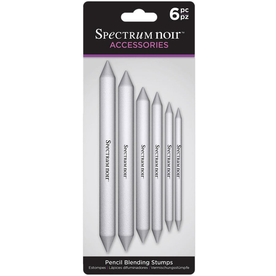 Spectrum Noir Pencil Blending Stumps 6/Pkg