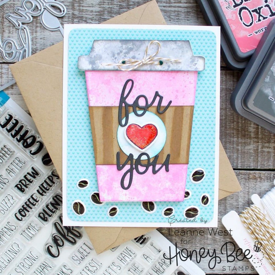 Coffee Gift Card Holder | Honey Cuts