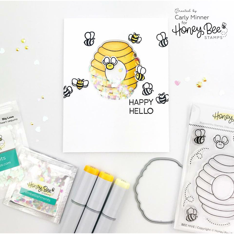 Bee Hive | 3x4 Stamp Set