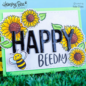 Bee Bold Alphabet | Honey Cuts