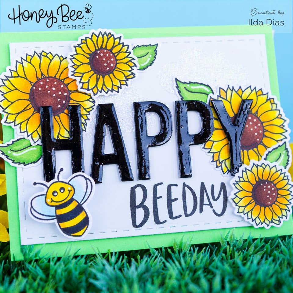 Load image into Gallery viewer, Bee Bold Alphabet | Honey Cuts