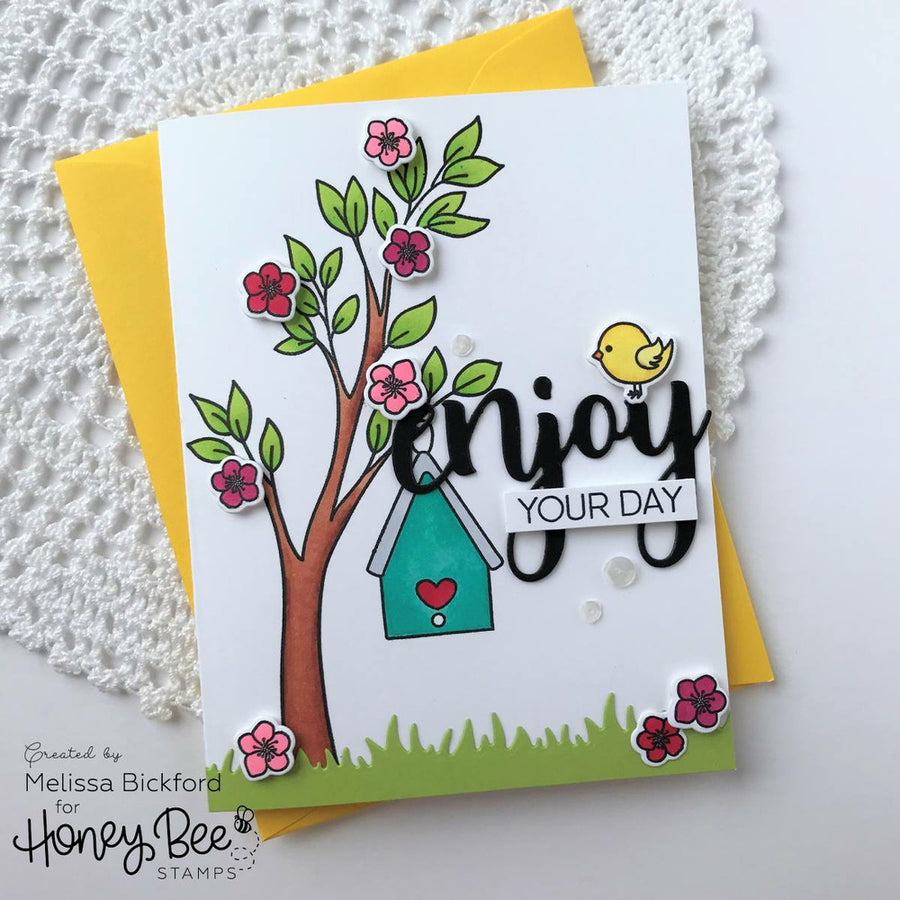 Birds And The Bees | 4x6 Stamp Set