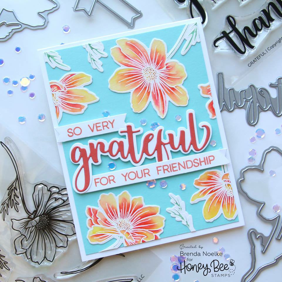 Load image into Gallery viewer, Grateful | 4x4 Stamp Set