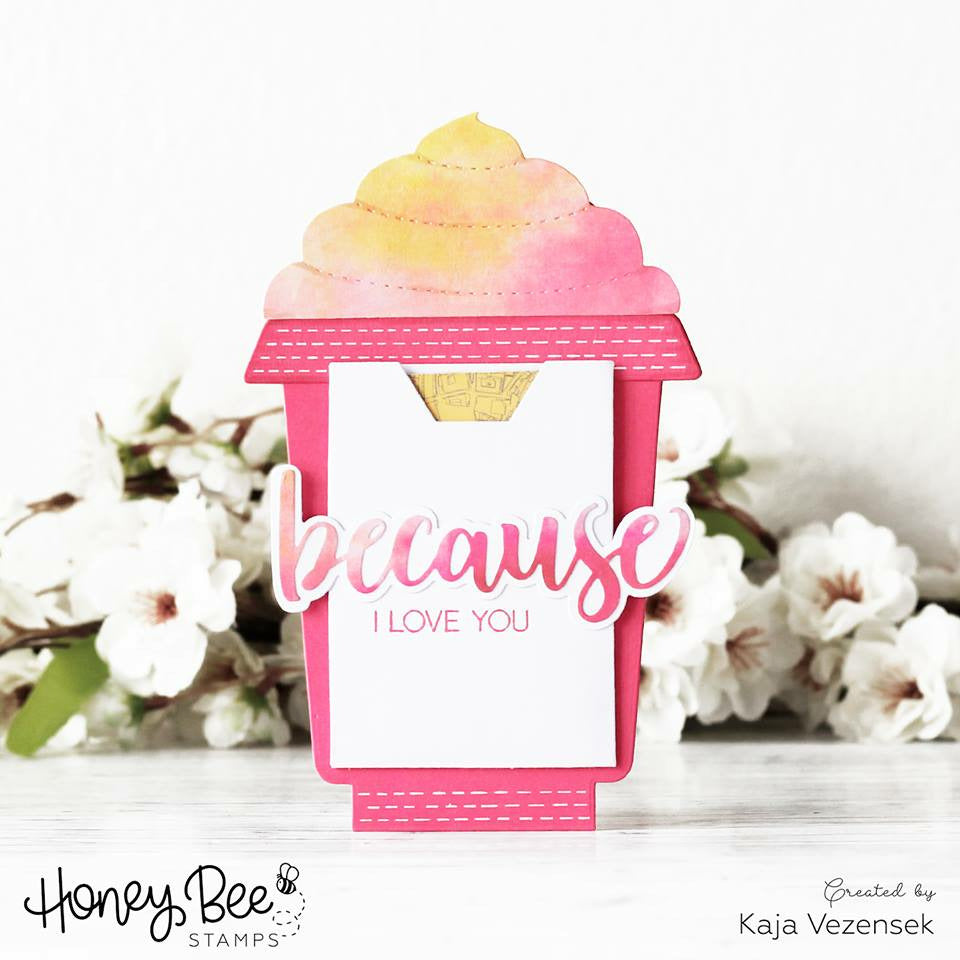 Load image into Gallery viewer, Frappe Shake Card | Honey Cuts
