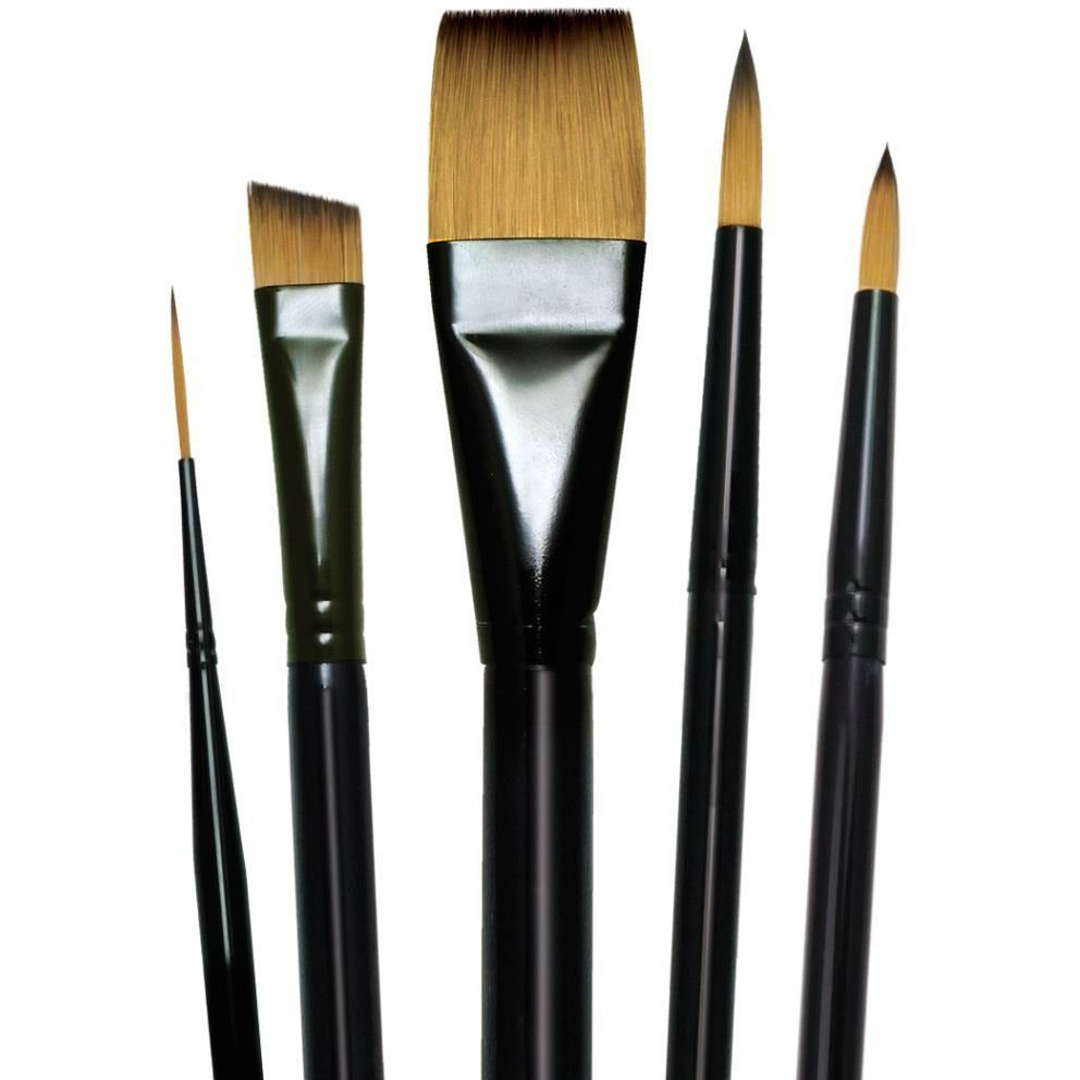 Load image into Gallery viewer, Majestic Watercolor Deluxe Brush Set | 5
