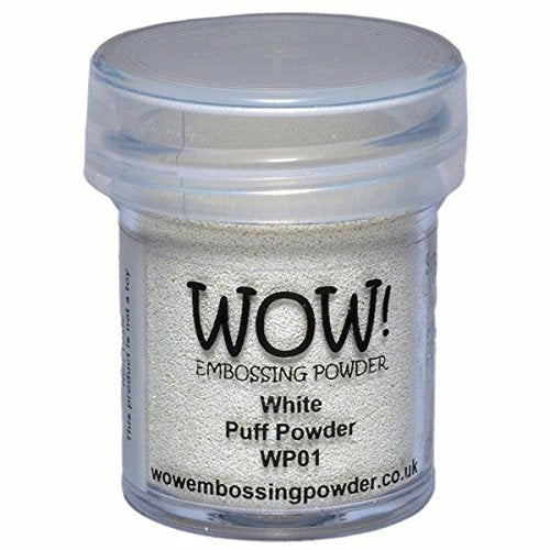 WOW! Embossing Powder, White Puff