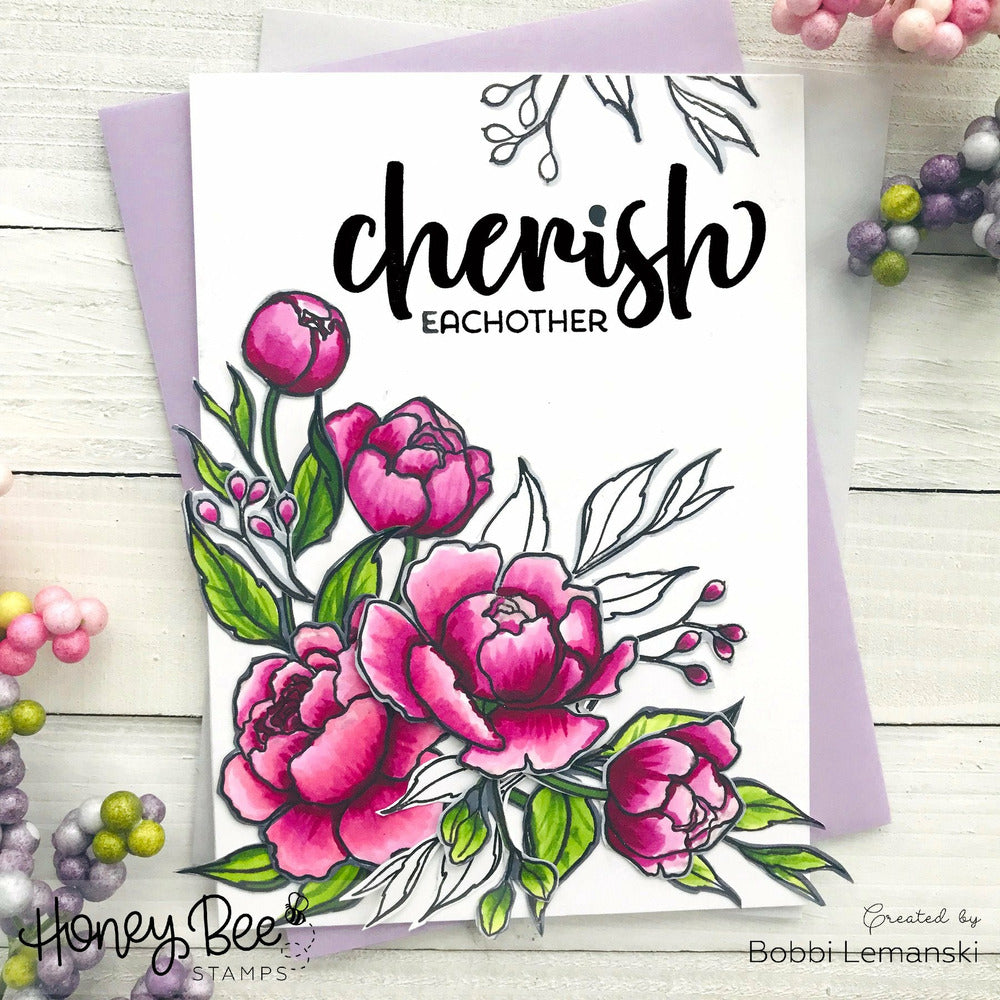 Load image into Gallery viewer, Cherish | 4x4 Stamp Set
