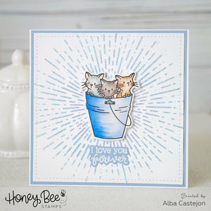 Purrrfect Sentiments | 4x8 Stamp Set