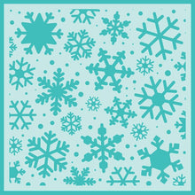 Load image into Gallery viewer, Snowfall | Background Stencil