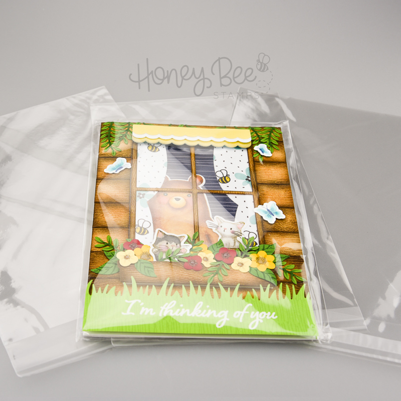 Load image into Gallery viewer, Crystal Clear Cello Bags | 100 Pk | A7+