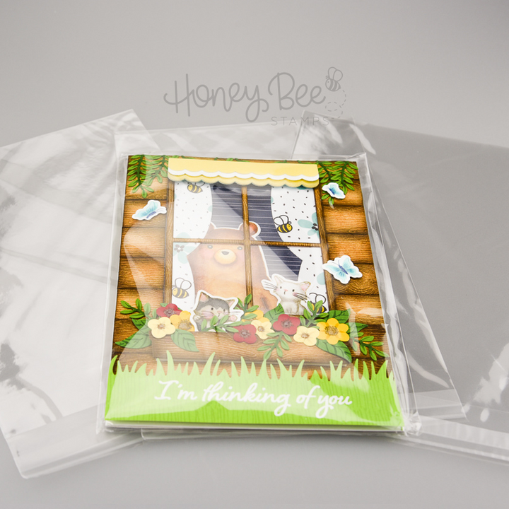 A7+ Crystal Clear Cello Bags | 100 Pack