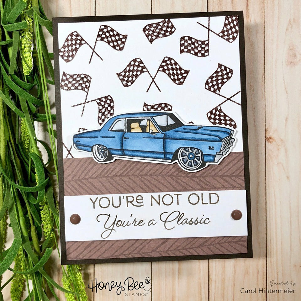 Load image into Gallery viewer, Car Show | 4x8 Stamp Set