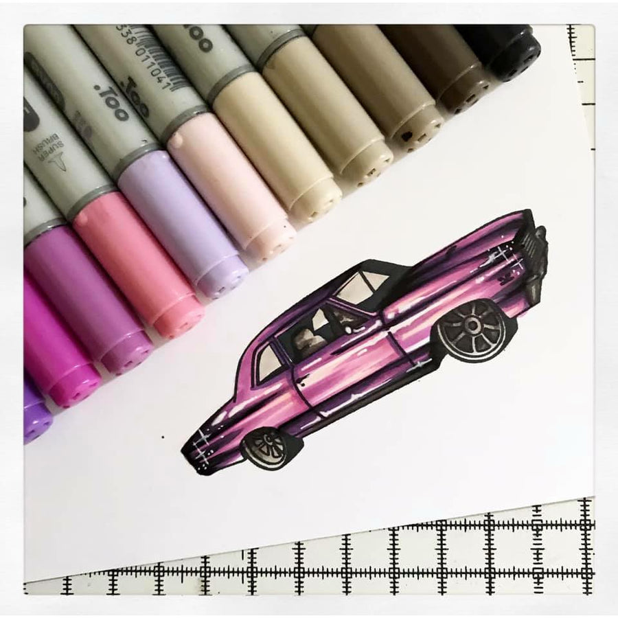 Car Show | 4x8 Stamp Set