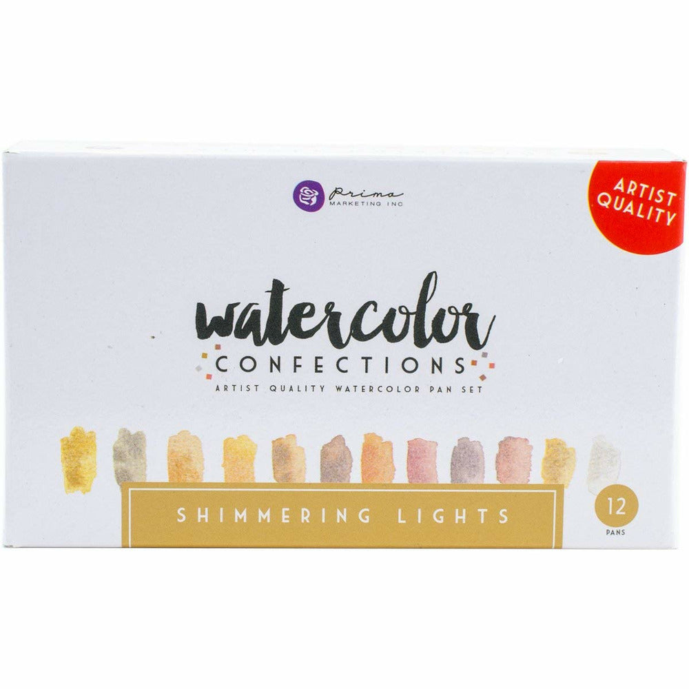 Load image into Gallery viewer, Shimmering Lights | Prima Watercolor Confections 12/Pkg