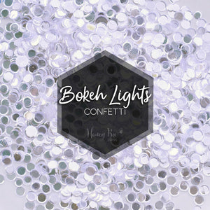 Bokeh Lights Confetti Mix