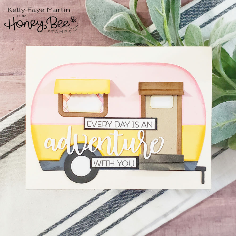 Load image into Gallery viewer, Camp Trailer Card | Honey Cuts