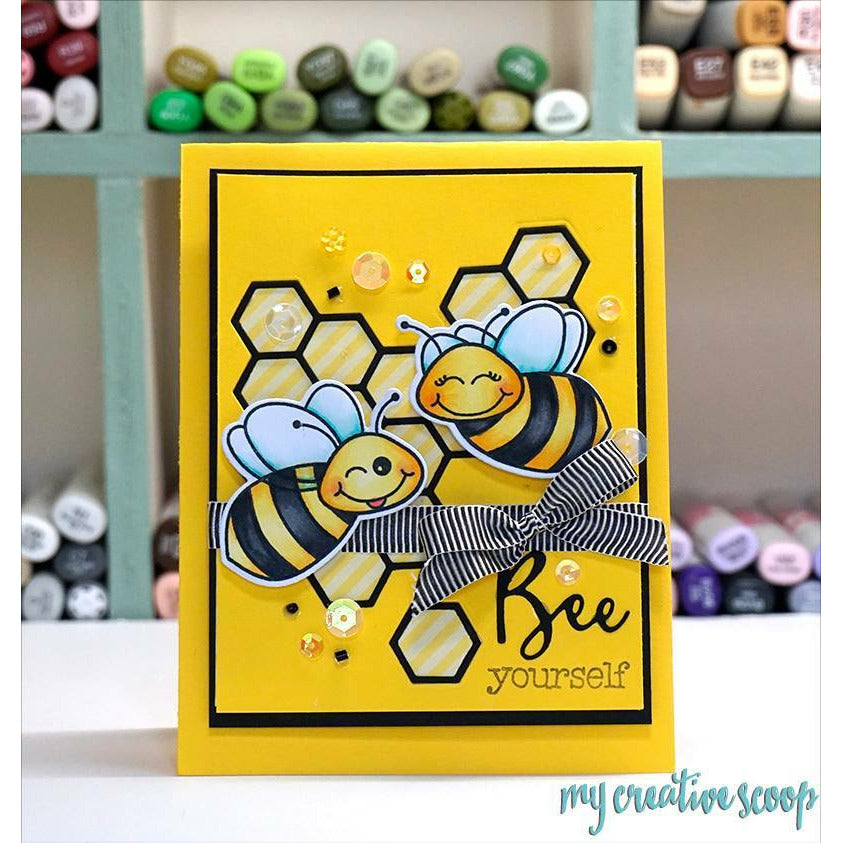 Load image into Gallery viewer, Build-A-Bee | 4x8 Stamp Set