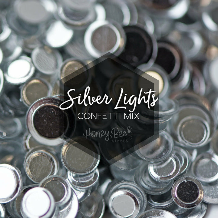 Silver Lights | Confetti Mix